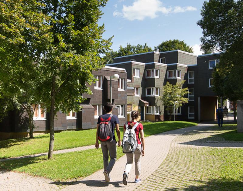 Wohnheim Allmandring 1 in Stuttgart als neues WOhnheim in 2022
